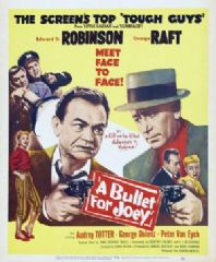 A Bullet for Joey 1955 DVD - Edward G. Robinson / George Raft